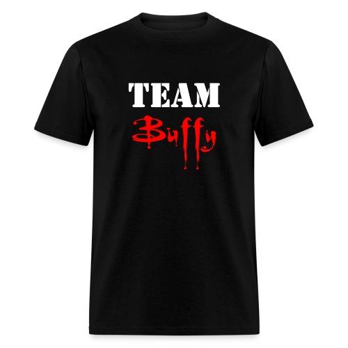 Team Buffy - Front/Back - Men's T-Shirt