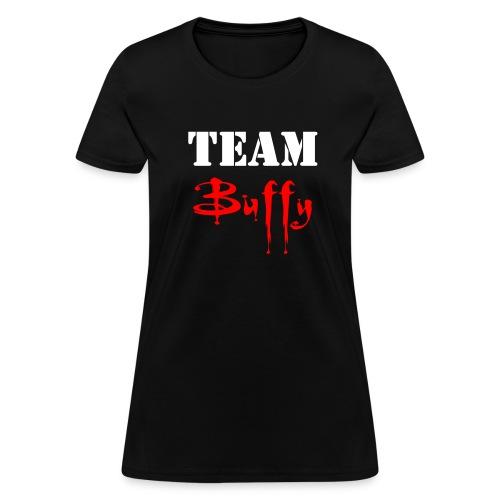 Team Buffy - Front/Back - Women's T-Shirt