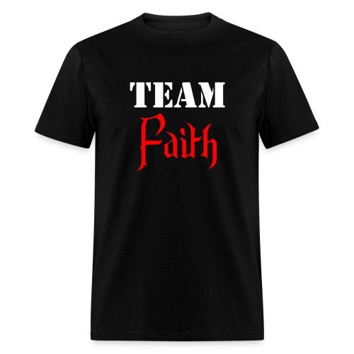 Team Faith - Front/back - Men's T-Shirt