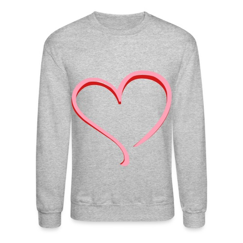 Dual Heart Crewneck - Crewneck Sweatshirt