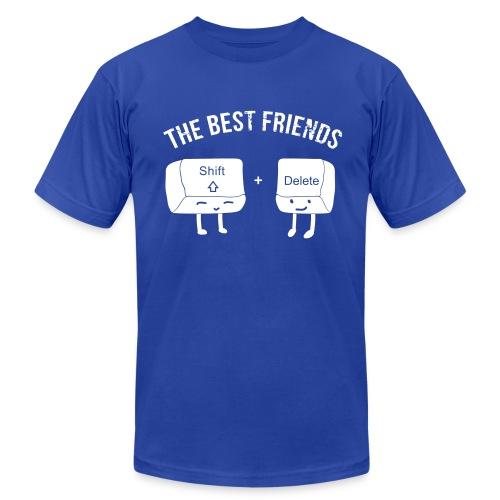 The Best Nerd Friends - Men's Fine Jersey T-Shirt
