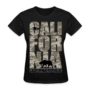 California Digital Camouflage - Women's T-Shirt