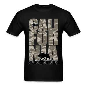California Digital Camouflage - Men's T-Shirt