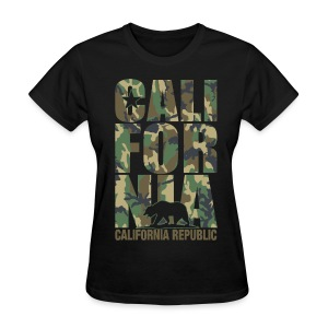 California Camouflage - Women's T-Shirt