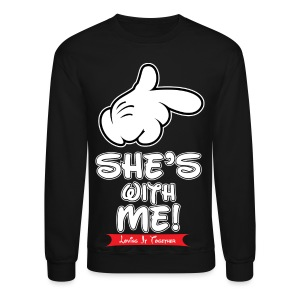 She's with me loving it Together - Crewneck Sweatshirt