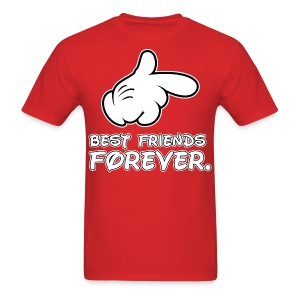 best friends forever - Men's T-Shirt