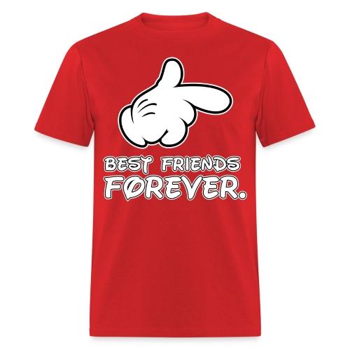 best friends forever - Men's T-Shirt