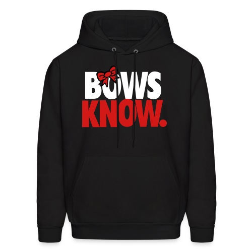 Bows Know(Red) - Men's Hoodie