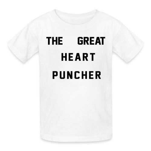 The Great Heart Puncher - Kids' T-Shirt