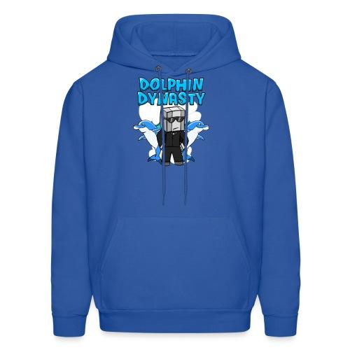 Unisex Dolphin Dynasty Hoodie - Men's Hoodie
