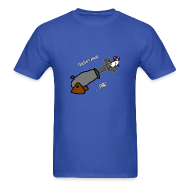 T-Shirts ~ Men's T-Shirt ~ Chicken Cannon Fire