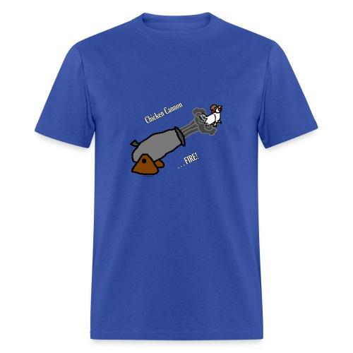 Chicken Cannon Fire - Men's T-Shirt