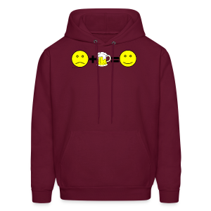 Beer: Liquid Happiness Men's Hooded Sweatshirt - Men's Hoodie