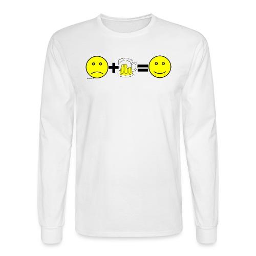 Beer: Liquid Happiness Men's Long Sleeve T-Shirt - Men's Long Sleeve T-Shirt