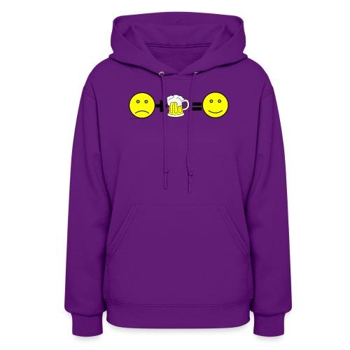 Beer: Liquid Happiness Women's Hooded Sweatshirt - Women's Hoodie