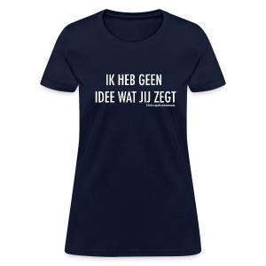 Translation (white) - Women's T-Shirt