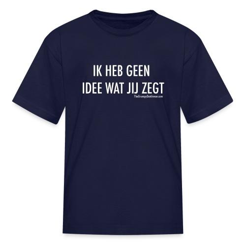 Translation (white) - Kids' T-Shirt