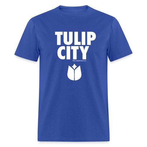 Tulip City (white) - Men's T-Shirt