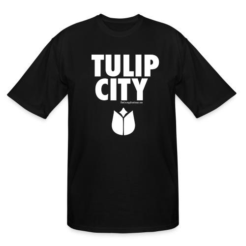 Tulip City (white) - Men's Tall T-Shirt