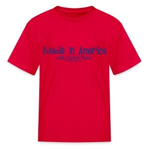 Dutch Parts (blue) - Kids' T-Shirt