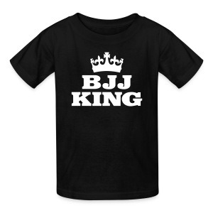 Kids BJJ King Tee - Kids' T-Shirt