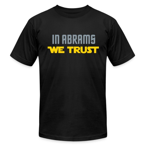 In Abrams We Trust - Men's Fine Jersey T-Shirt