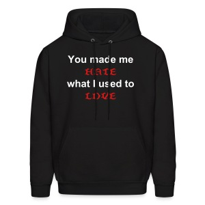 hate what i love - Men's Hoodie