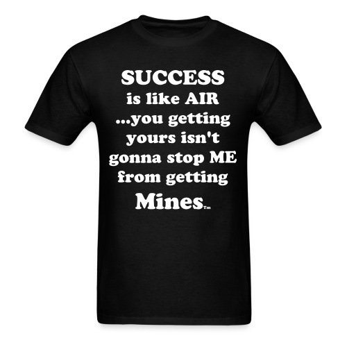 Success is like AIR - Men's T-Shirt