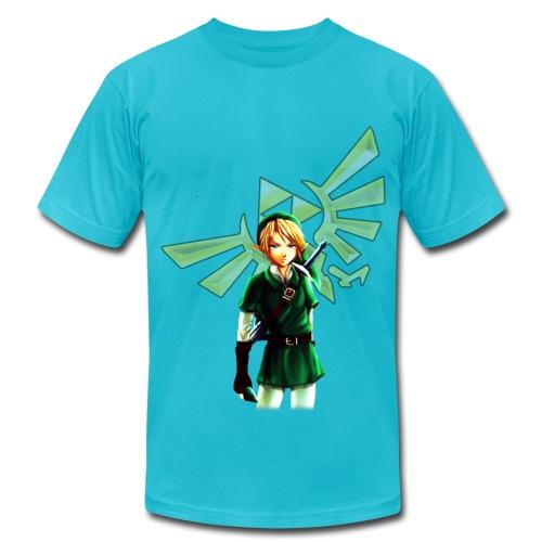 Legend of Zelda Link (HD) - Men's Fine Jersey T-Shirt