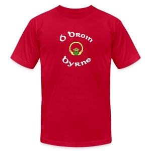 Byrne Family Claddagh Tee for Men - Men's T-Shirt by American Apparel