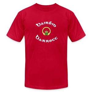 Barrett Family Claddagh Tee for Men - Men's T-Shirt by American Apparel