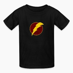 Retro Super Hero Lightning Bolt