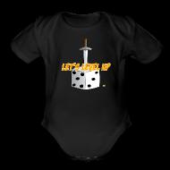 Baby Bodysuits ~ Baby Short Sleeve One Piece ~ LLU Logo Baby One Piece