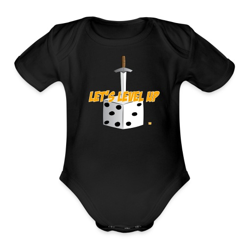 LLU Logo Baby One Piece - Organic Short Sleeve Baby Bodysuit