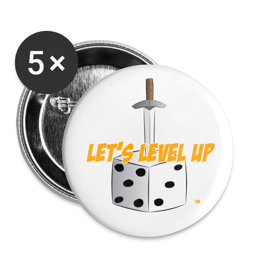 LLU 1 Button - Small Buttons
