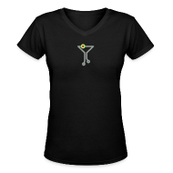 T-Shirts ~ Women's V-Neck T-Shirt ~ Tech Cocktail Classic V - Women's Fitted Tee