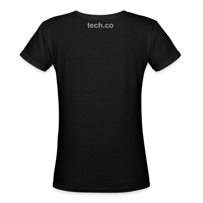 TechCo Classic V - Women's Fitted Tee