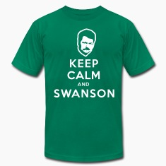 Keep Calm and Swanson Men's Humor T-Shirts