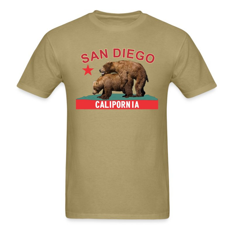 CP San Diego red&gold - Men's T-Shirt