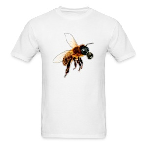 Bee With Gas Mask - Men's T-Shirt