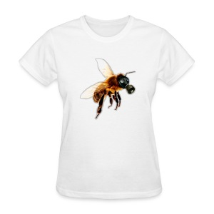 Bee With Gas Mask - Women's T-Shirt