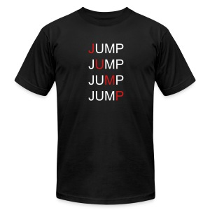 Men's T-Shirt JUMP! - Men's T-Shirt by American Apparel