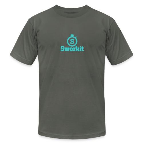 Sworkit Classic - Men's Fine Jersey T-Shirt