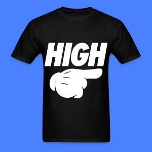 High Pointing Right T-Shirts - Men's T-Shirt