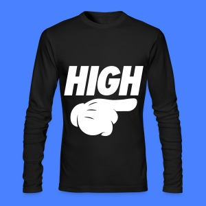 High Pointing Right Long Sleeve Shirts - Men's Long Sleeve T-Shirt by Next Level