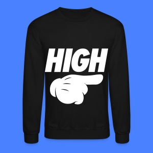 High Pointing Right Long Sleeve Shirts - Crewneck Sweatshirt