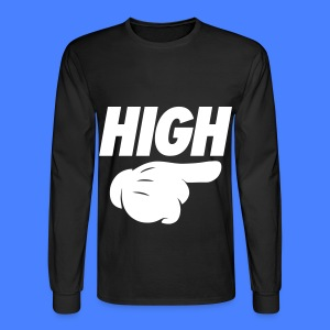 High Pointing Right Long Sleeve Shirts - Men's Long Sleeve T-Shirt