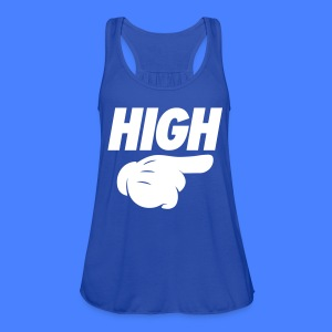 High Pointing Right Tanks - Women's Flowy Tank Top by Bella