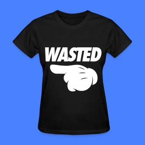 Wasted Pointing Left Women's T-Shirts - Women's T-Shirt