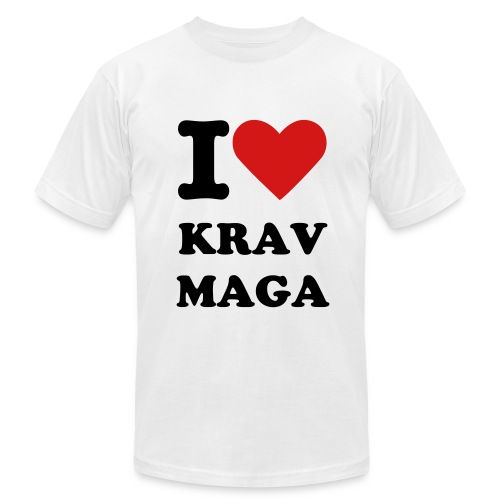 I love Krav Maga - Men's Fine Jersey T-Shirt